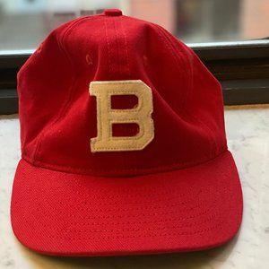 J. Crew Red B Hat